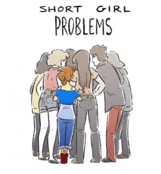 10 მომენტი, როცა დაბალი გოგონები თავს საშინლად გრძნობენ