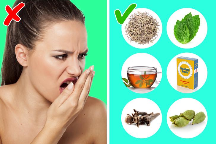 5 გზა პირის ღრუს უსიამოვნო სუნის გასაქრობად