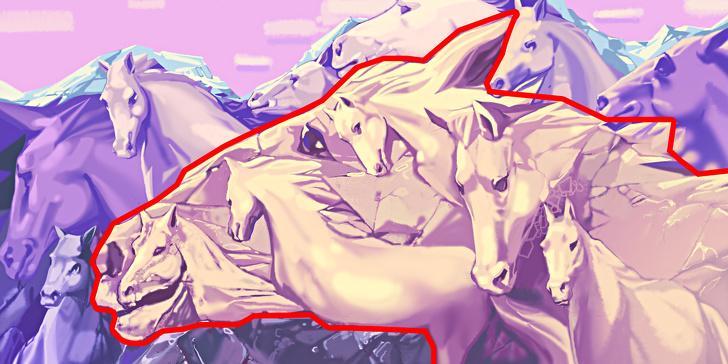რამდენი ცხენია ფოტოზე? ამ ტესტის საშუალებით თქვენზე მეტ რამეს გაიგებთ.