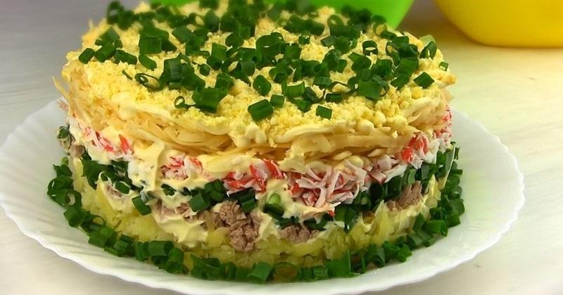 მოვამზადოთ სალათები თინუსთან ერთად
