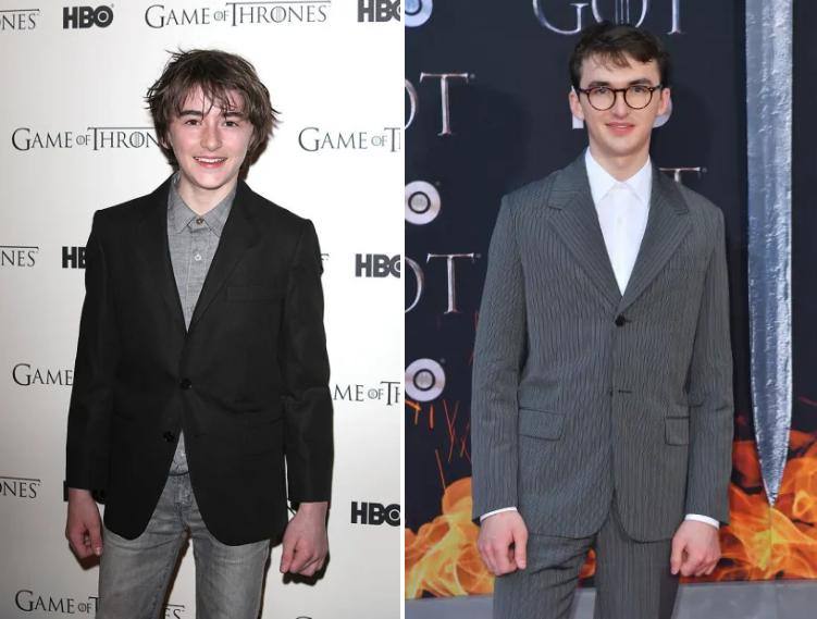 ,,სამეფო კართა თამაშის'' მსახიობების ფოტოები წითელი ხალიჩიდან - 2012 vs 2019
