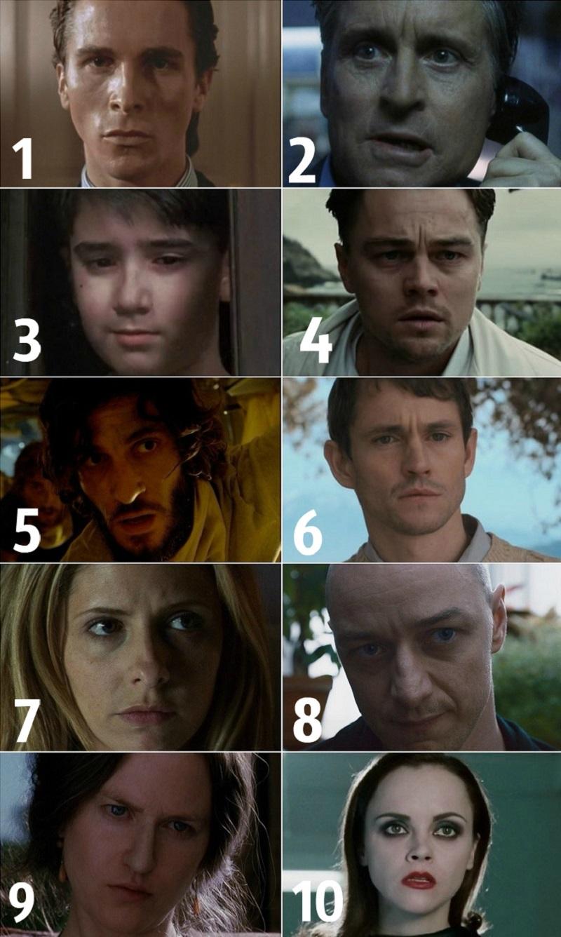 რომელი სახე გაშინებს ყველაზე მეტად? შეარჩიე ფოტო და გაიგე, რას მალავს შენი ქვეცნობიერი