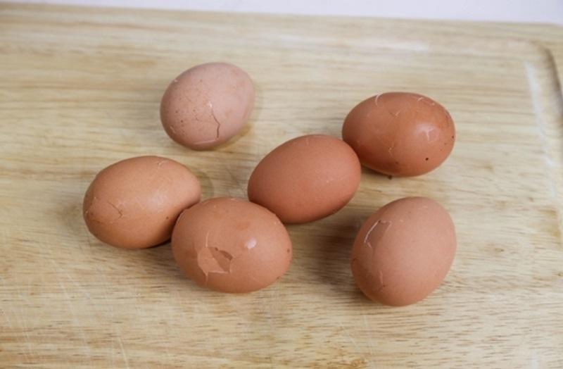 კვერცხის მოხარშვა ჩაიში