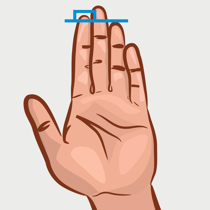 ტესტი: თითის სიგრძეს თქვენს პიროვნებაზე ბევრის თქმა შეუძლია