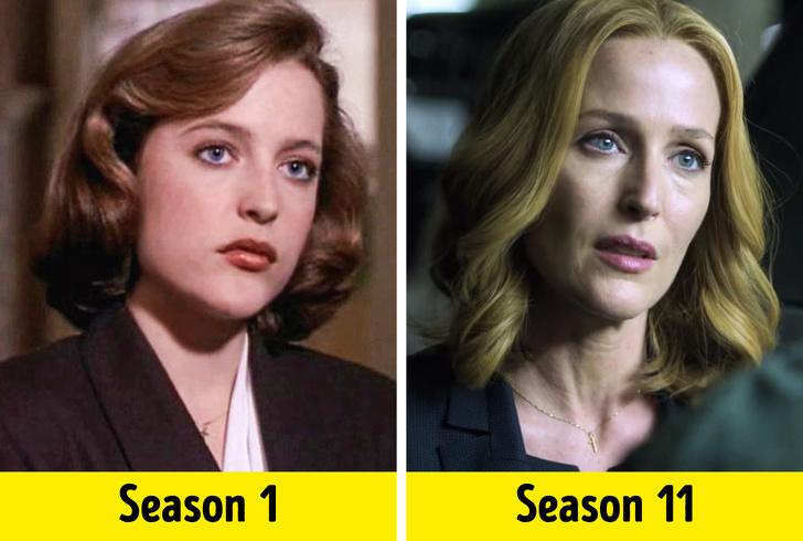 როგორ შეიცვალნენ ცნობილი სერიალების მსახიობები პირველიდან ბოლო სერიამდე