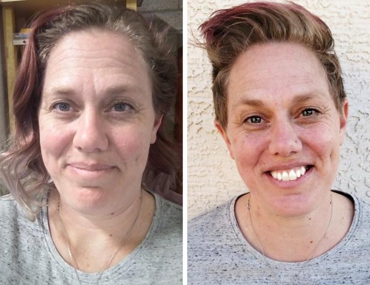ეს 19 ფოტო ადასტურებს თუ როგორ ცვლის ადამიანის ტიპაჟს მოკლედ შეჭრილი თმა
