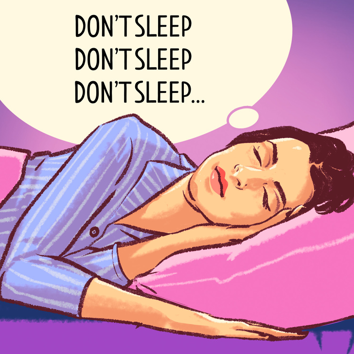როგორ დავიძინოთ სწრაფად 10, 60 და 120 წამში