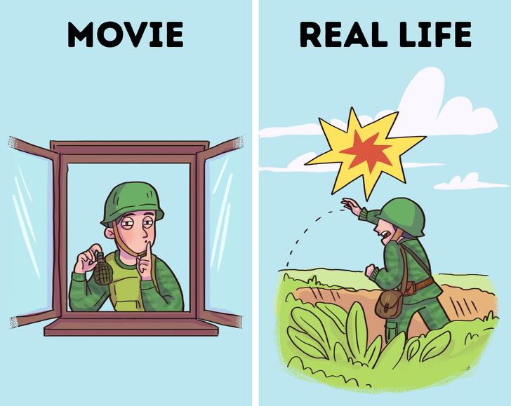 ცნობილ ფილმებში წარმოდგენილი მითები, რომლის დაჯერებაც გავნებთ