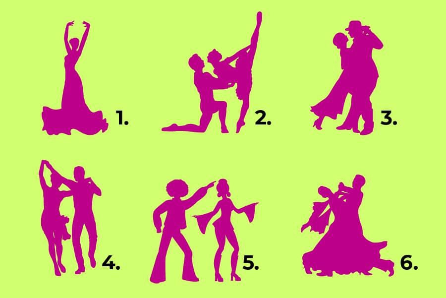 ტესტი: აირჩიეთ მოცეკვავე წყვილი და გეტყვით როგორი ურთიერთობა გჭირდებათ ახლა