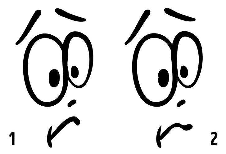 აირჩიეთ ორიდან ერთი სახე და ჩვენ გეტყვით, რა ვიცით თქვენს შესახებ